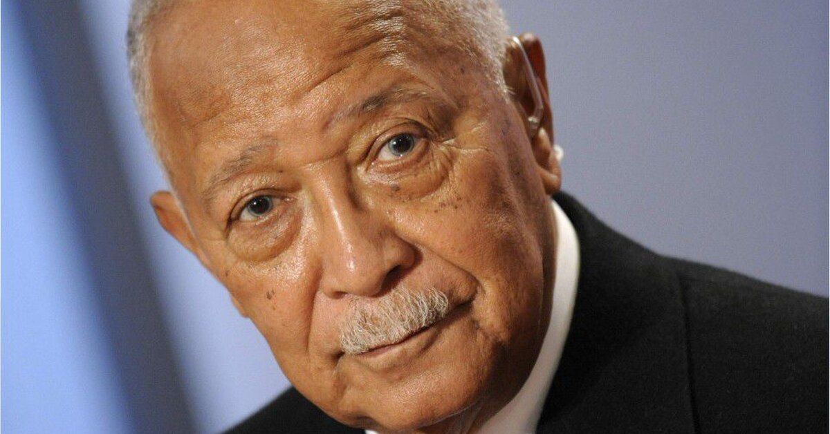 David Dinkins, former New York mayor, dies
