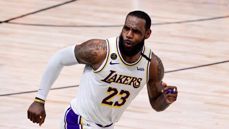 Lakers Reward James, Davis