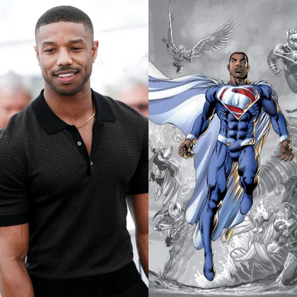 Michael B. Jordan as Superman?