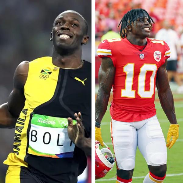 Tyreek Hill Challenges Bolt