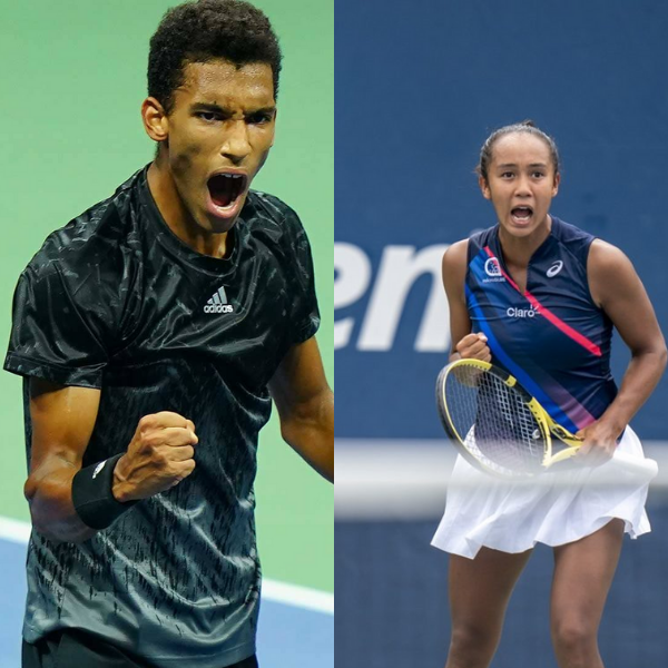 Canadians at US Open